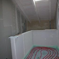Wandtrockenputz-Trockenbauwand-Staenderwerk-